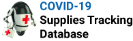 COVID-19 SUPPLIES TRACKING DATABASE Logo